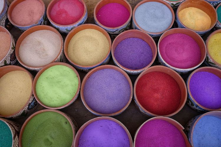 Sand for souvenirs in bottles