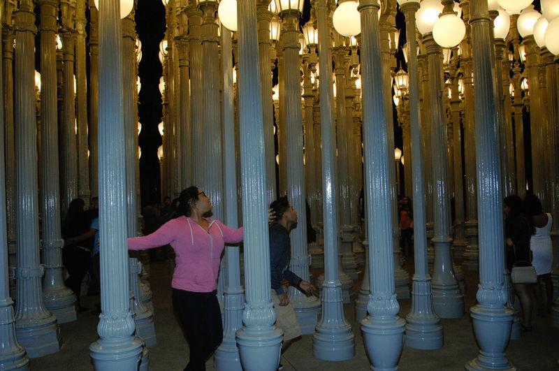 Adapted To The City Lacma Lights Night LACMA URBAN LIGHTS Fun