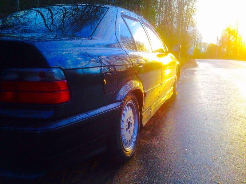 Car Day Road Street E36 Bmw Black Sun Mpower Shadow Fun Whynot Mastika Tuning
