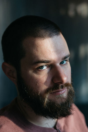 Portrait of a man Eyes People Face Lifestyle EyeEm Selects Only Men One Man Only Serious One Person Adults Only Portrait Looking At Camera Headshot Adult Indoors  Human Face People Close-up Men Beard Young Adult Day Real People