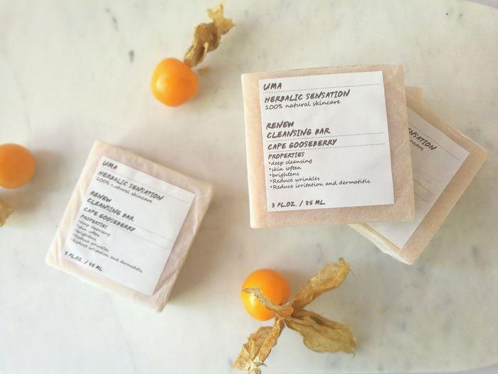 UMA Natural Skincare Product Cleansing Bar