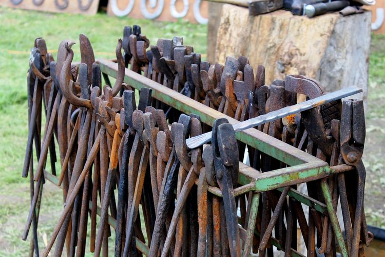 Tools of a blacksmith Blacksmith  Forging Tool Schmiedekunst Schmieden Schmiedewerkzeug Smith Tools Werkzeug