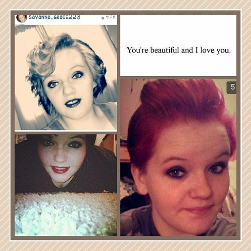 My WCW.♡♥♡ I love you boo! You're so beautiful and I don't know where I would be without you. You're so strong, and so fucking beautiful!(: You're the bestest bestfriend anyone could ask for. Keep your head up, babygirl. I love you so so so much!♡ @savanna_grace223 WCW Gracie Bestfrienddd