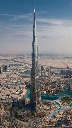 Dubai Dubaicity Kalifa Tower Love With You Heart Not Your Eyes <3 ~Wiz Kalifa