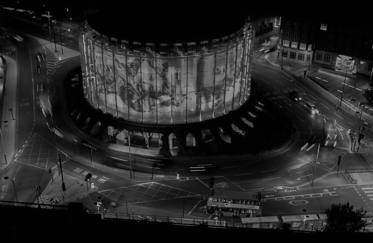 IMAX 3D Cityscapes London Waterloo Waterloobridge Black And White Traffic Monochrome