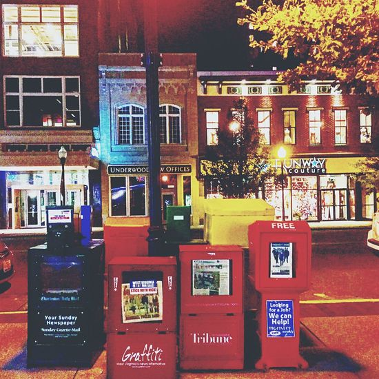 Downtown Huntington, WV Pullman Square Night Lights Night Life Everyday Magic Eye4photography  Popular Photos EyeEm Gallery IPhoneography
