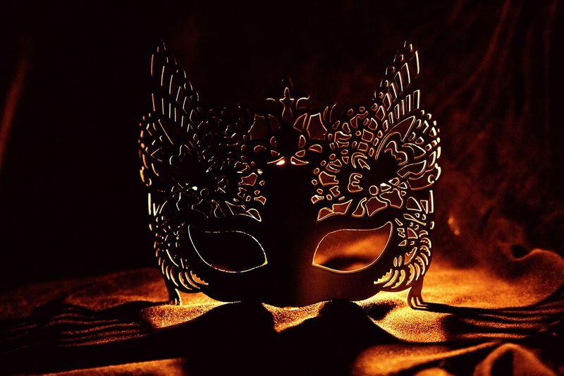 Chocolate masquerade Chocolate Masquerade Mask Fire Shine Shadow