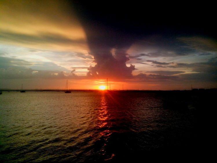 love u Sunset Perfect Sunset Fercosunset