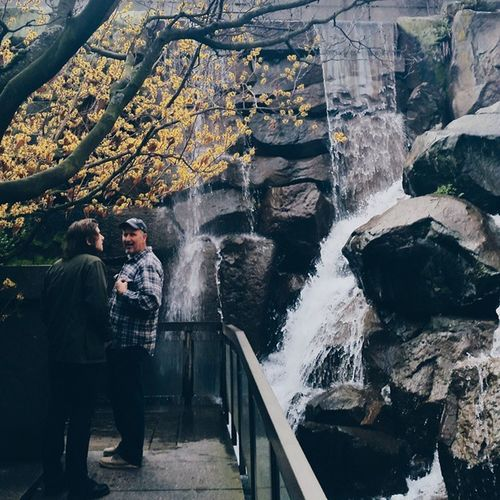 The waterfall in the middle of the city || GrowthngraceSEA Vscocam Seattle