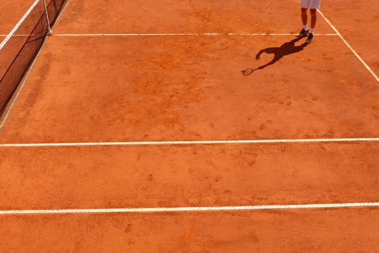 Millenium Estoril Open 2016. ATP 250 Tournament. Day Elevated View Lifestyles Outdoors Part Of Showing Imperfection Sport Tennis Tennis 🎾 Tenniscourt My Favorite Photo The Photojournalist - 2016 EyeEm Awards The Color Of Sport