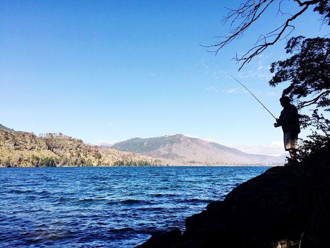 Pesca en el lago!!