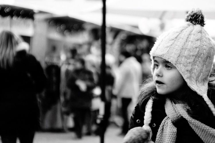 Focus On Foreground Incidental People Real People Girls Women One Person Day Warm Clothing Outdoors Close-up Young Adult People Adult
