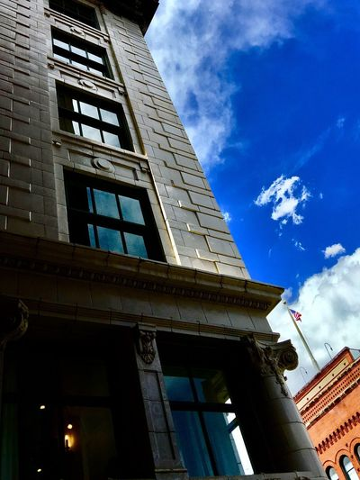 Architecture Built Structure Building Exterior Low Angle View Sky Cloud - Sky Outdoors Day No People City
