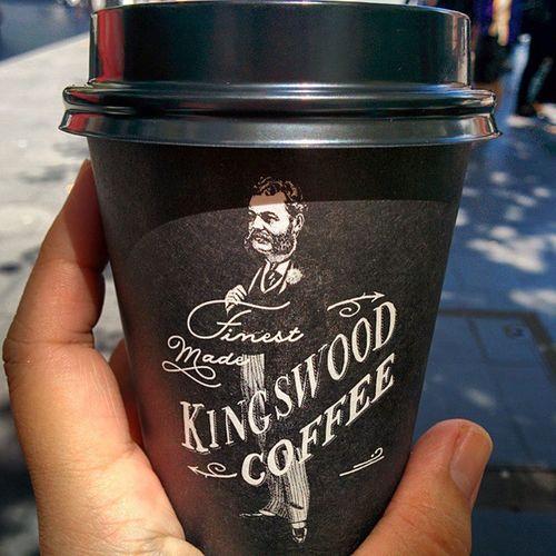 Kingswood Coffee Flatwhite NoSugar Worldsquare Sydney Sunday Caffeine Wakeup