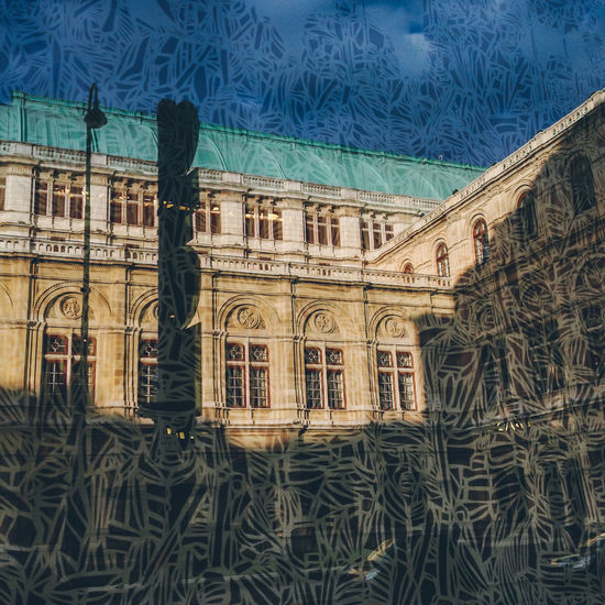 Vienna State Opera House (Staatsoper) Abstract Architecture Art Austria Built Structure Colors Famous Place Hofburg Lifestyles Music Operahouse Opéra Pattern Reflection Staatsoper Staatsoperwien Tourism Travel Destinations Unusual Vienna Wien Wiener Staatsoper