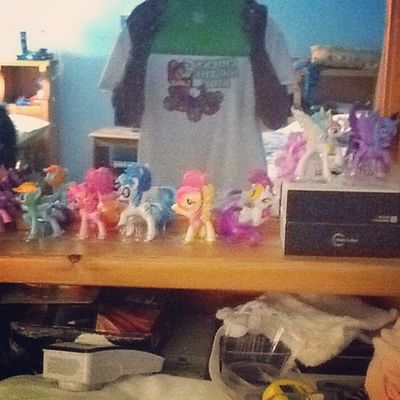 Done collecting my little pony from MickeyD. Weheartpics @weheartpicscom