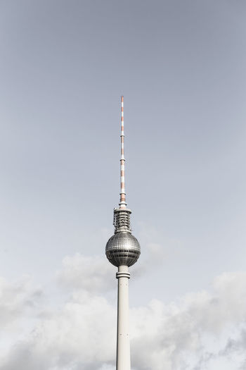 FERNSEHTURM Architecture Architecture_collection Fernsehturm Berlin  TV Tower Architecture Broadcasting Building Exterior Built Structure City Communication Day Global Communications Minimalism Minimalobsession No People Outdoors Sky Spire  Tall - High Technology Television Tower Tower Travel Travel Destinations The Week On EyeEm