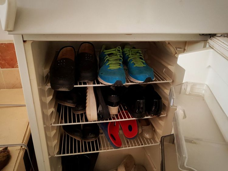 No People Indoors  Close-up Shose In Refridherator Insted For Meet Or Food Porelifesyyel Scenics Refridgerator Lifestyles Travel Destinations Indoors  Indoors  Day