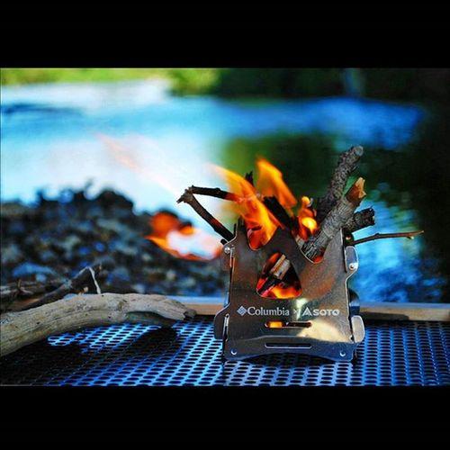 焚き火台 焚き火 ミニ焚き火台 Fam付録 Soto Columbia Bonfire Campinggear Bonfiregang キャンプ