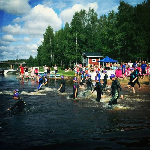 Swim Race Open Water vansbro Vansbro Tjejsim 2013