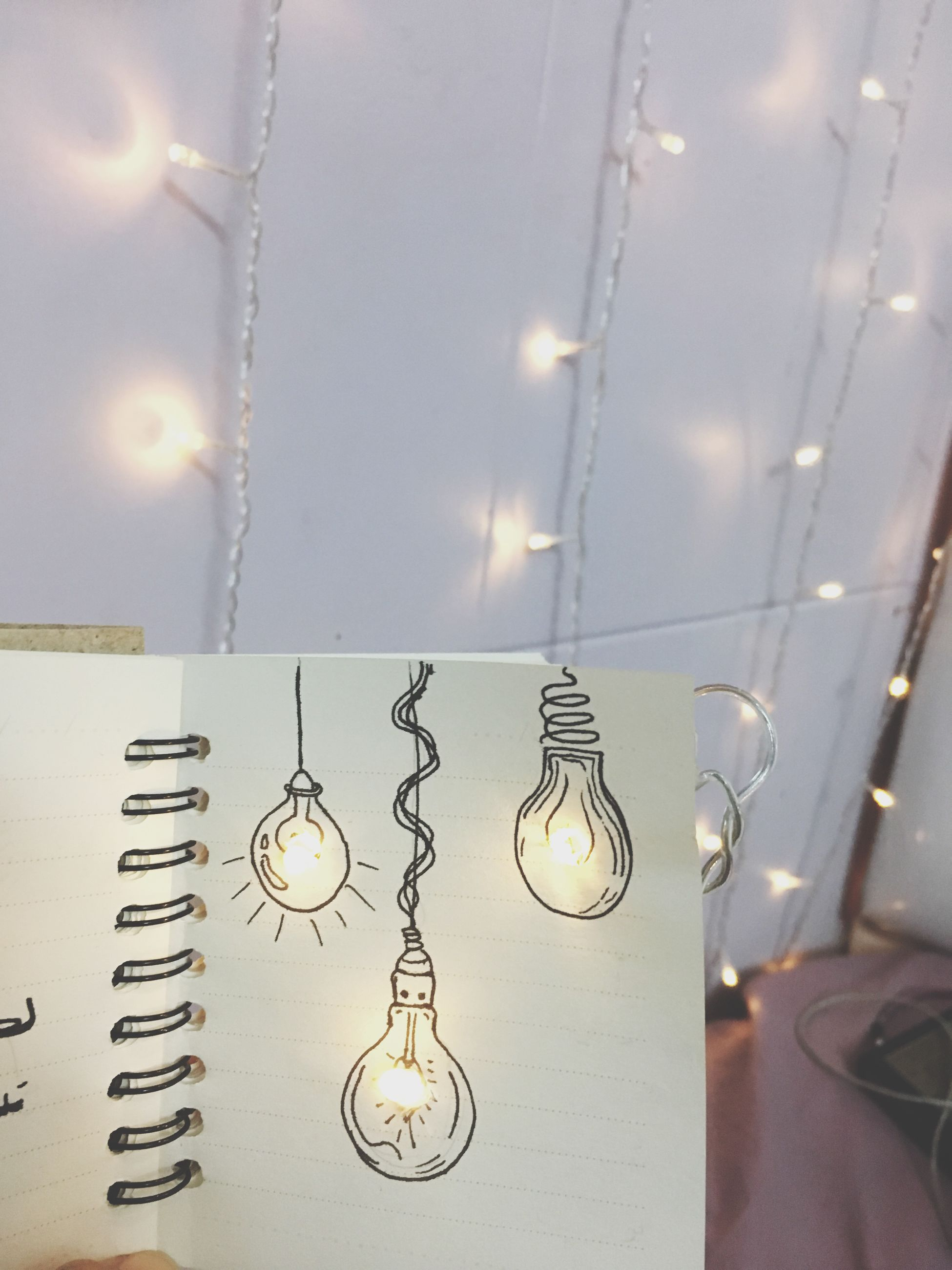 hanging, metal, no people, illuminated, chain, close-up, indoors, light bulb, day
