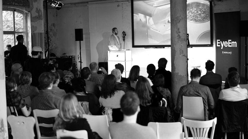 Full house at The 2014 EyeEm Festival & Awards