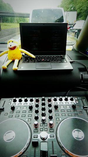 Flat Eric Traffic Jam DJing Dj Traktorpro2 ThinkPad Psytrance Techno Music