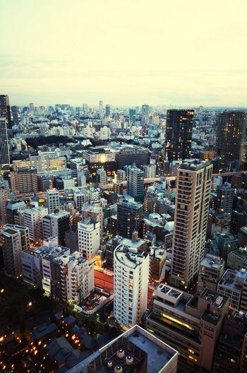 Tokyo Tokyotower Tokyoskyline