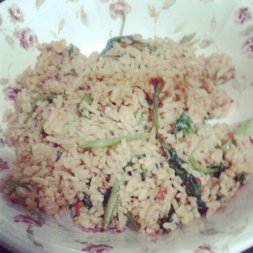 Nasi Goreng Kangkung Latepost