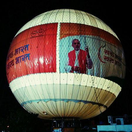 NAMOeffect Everywhere @ Kankaria Lake Baloon