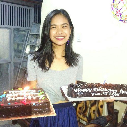 Birthday Cake Happy Birthday! 20th Birthday❤ Smiling
