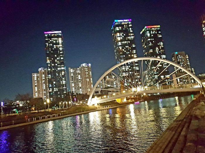 city lights The