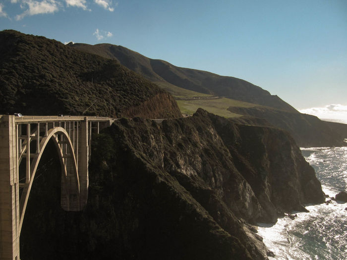 Bixby Bridge Against Sky