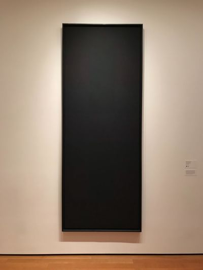 Black New York Minimalism Minimalist Moma New York Copy Space Indoors  Wall - Building Feature No People Wood - Material Single Object Picture Frame Blank Frame Architecture Design Home Interior Black Color Built Structure Square Shape Close-up Empty Shape Flooring White Color