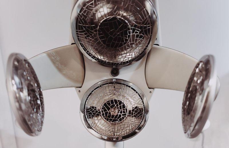 Hair Salon Modern Torture Modern Geometry Technology Abstract Close-up