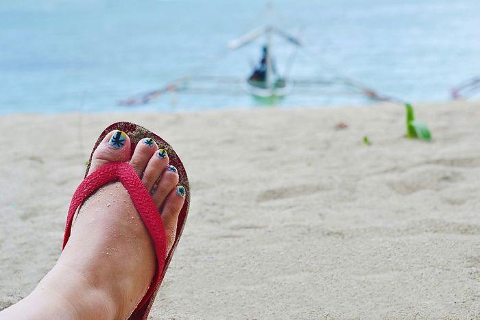 Beach Beachphotography Life Is A Beach Traveling Feet Eyeem Philippines Starting A Trip Nailpolish Flipflops The Traveler - 2015 EyeEm Awards