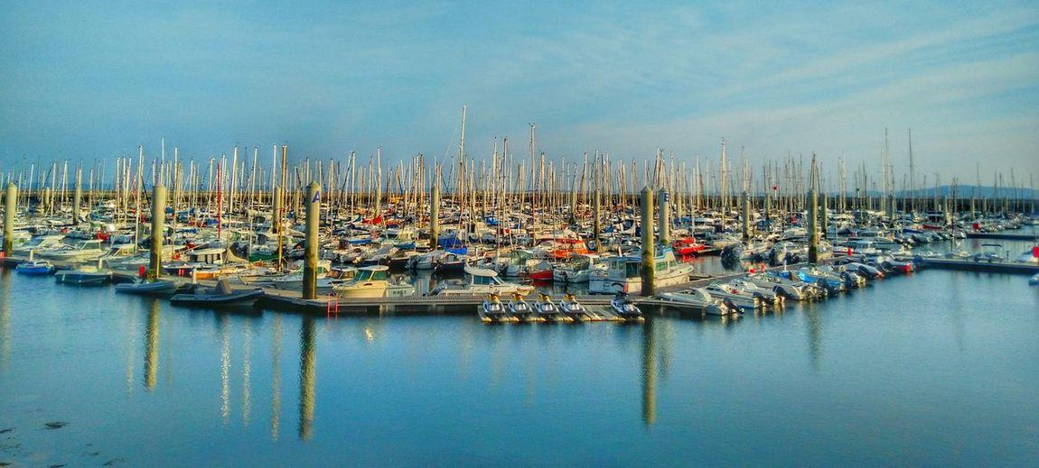 Port de plaisance Port Plaisance Harbour Brest Bzh Bretagne Bateaux Sailing Boat