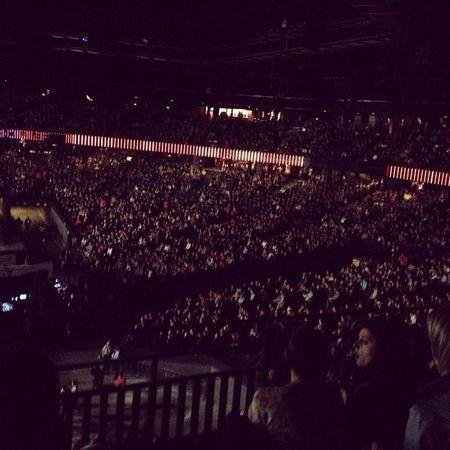 Kinda crowded ...