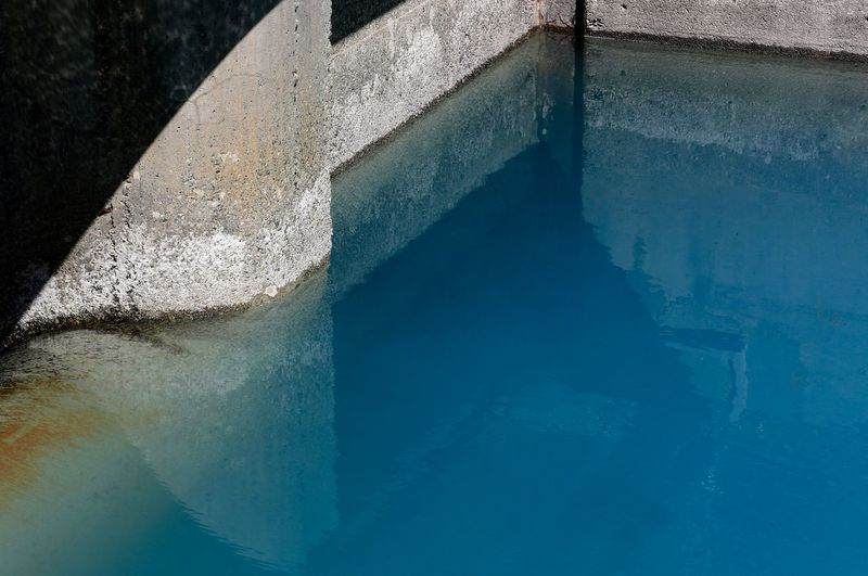 Water Water Reflections Dam Running Water Blue Water Cement Wall The Week Of Eyeem