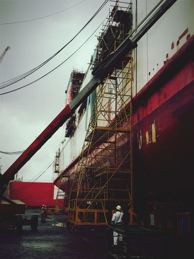 Work Vessel Repairwork Makeoverinprogress Singapore singapore