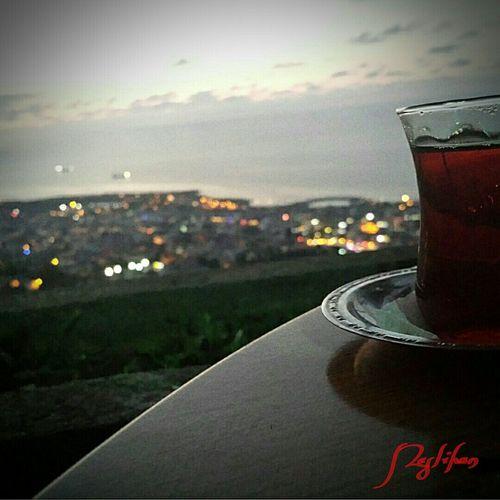 çay Trabzon`dan Manzaralar Trabzon Boztepe Aşktrabzon özledim Seni Trabzon ♥