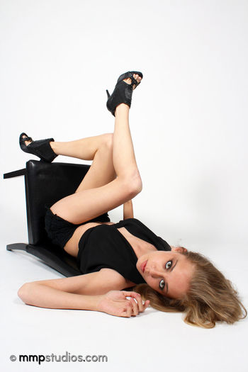 @melvinmaya @mmpstudios_com @photography Artistic Beautiful Blonde Chair Creativity GoodTimes HighHeels Houston Texas Classy Creative Followme Full Length Gorgeous Indoors  Looking At Camera Lying Down Model Photographer Studio Shot White Background Young Women