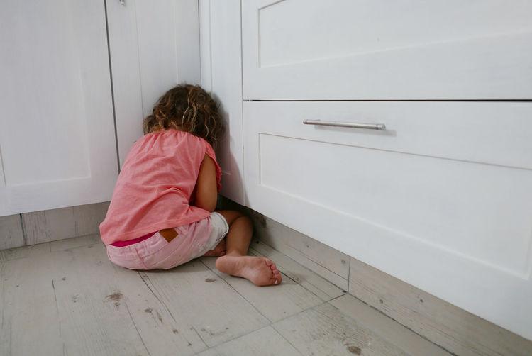 Casual Clothing Childhood Flooring Full Length Hardwood Floor Tiled Floor