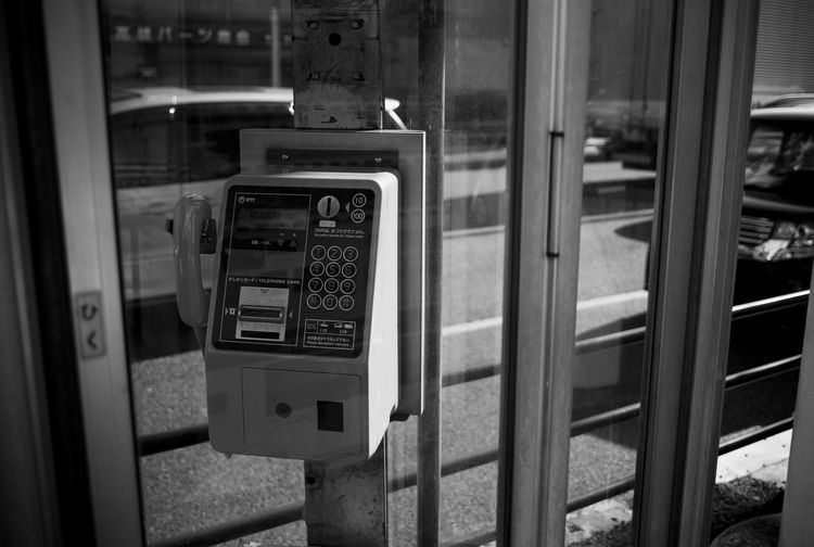 Streetphotography Blackandwhite Leica Leica M8 ELMARIT-M 28mm F2.8 公衆電話好き