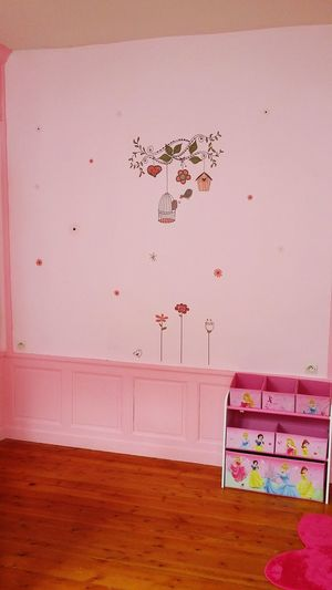 Bedroom Decoration Pink Pinkcolour Chambre Decor Stickers Couleurs My Baby Girl <3 Princess