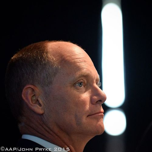 Campbell Newman on the Qld state election campaign trail - coverage for AAP Election State QLD Lnp Aap
