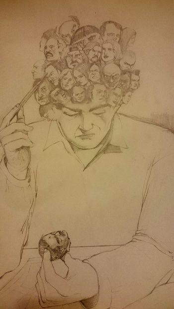 Art Artist Illustration Blackandwhite Drawing Sketching Pencil Drawing