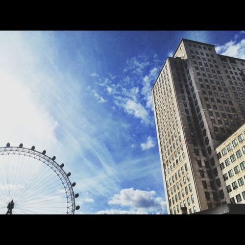 The London Eye & The Shell Centre Thelondoneye LondonEye Theshellcentre london