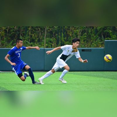 @joaqsroque19 x @cunananrafael ⚽ . . . UAAP Uaap77 Uaapseason77 ADMUvsUST juniors ateneo AdMU UST uste sbspotlight soccerbible football themanansala