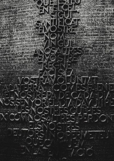 Wall Leica Lens SONY A7ii Church Of St Wall - Building Feature Shot Frist Eyeem Photos Scenics Barcelona Blackandwhite Wall